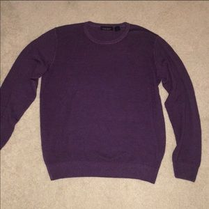 Purple merino sweater